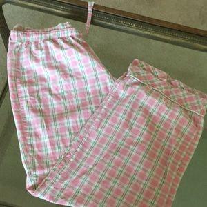 Victoria's Secret plaid pajama pants size large